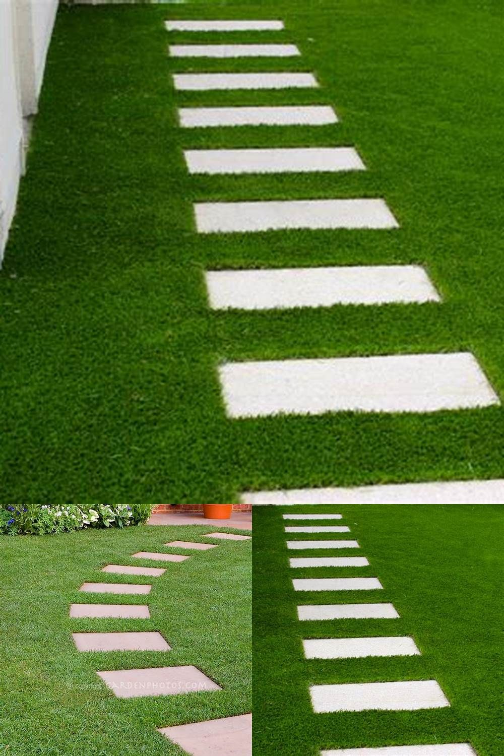 60 Best Ideas to Beautify Your Stepping Stones | Stepping ... on Backyard Landscaping Companies Near Me id=61696
