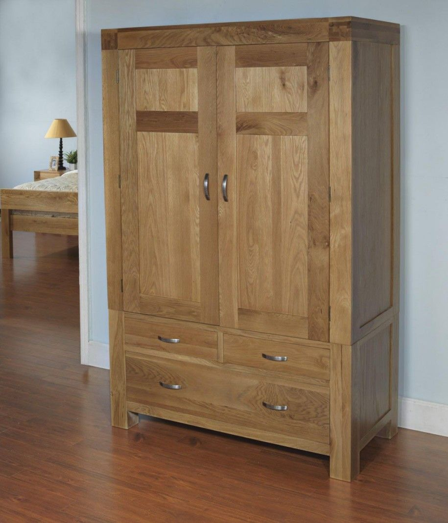 Home Design Furniture: Best Rustic Wooden Wardrobe Plans For Natural House Look