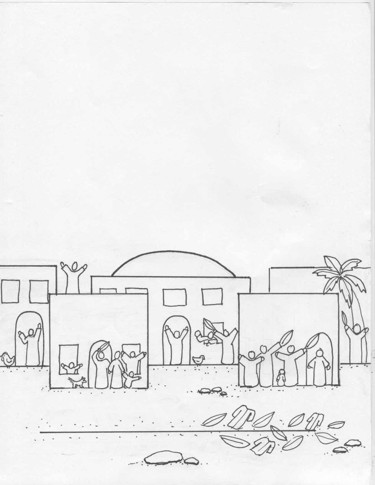Hermosa Peter Niega A Jesús Para Colorear Elaboración - Dibujos Para ...