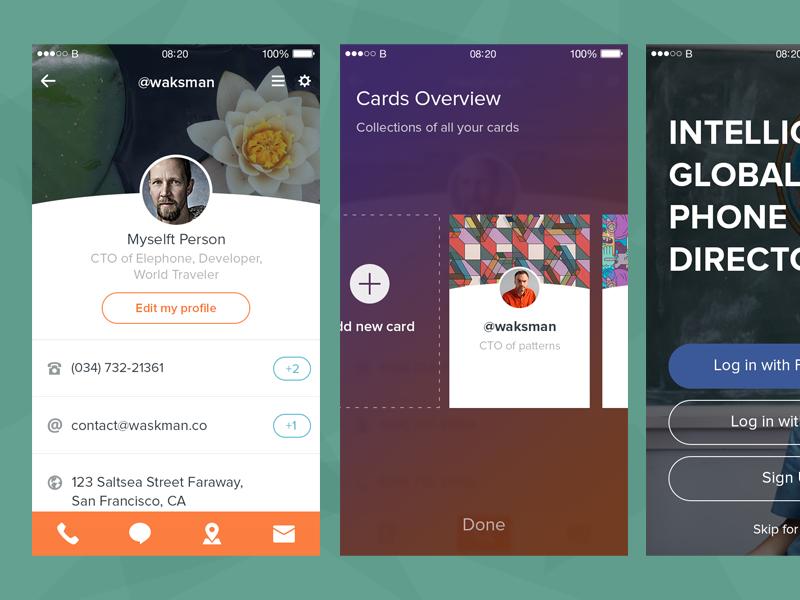 Some mobile app by Budi Tanrim
