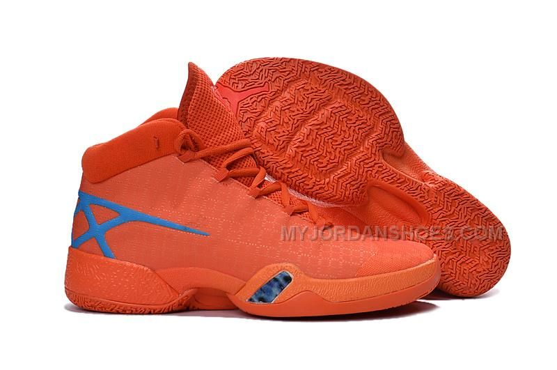 2bfddacc363d80 Find New Air Jordan 30 XXX Playoffs Orange Blue PE Super Deals online or in  Pumarihanna. Shop Top Brands and the latest styles New Air Jordan 30 XXX ...