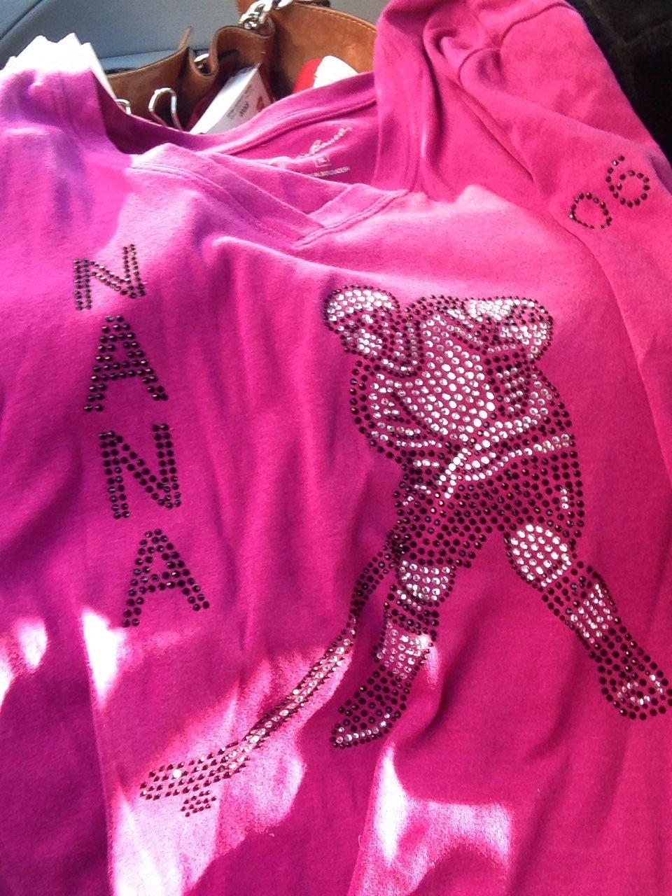 Nana Store Hockey Mom T Shirt