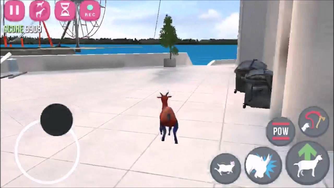 Goat Simulator - Skyscraper Assault! - YouTube | Gaming