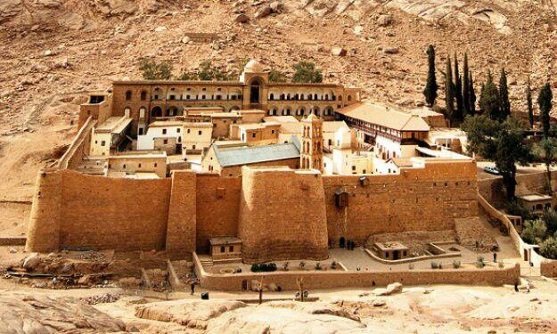 Fotos Del Monasterio De Santa Catalina En El Sinai