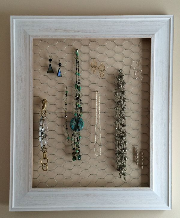 Learn how to use a picture frame to make an easy, but beautiful ...