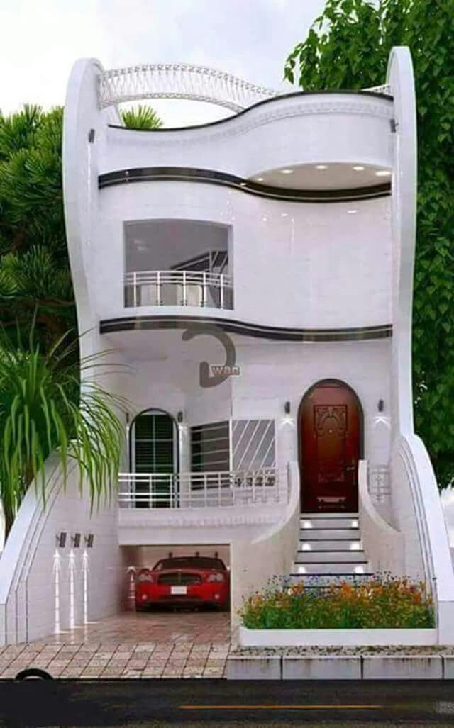 Delightful Style In A Compact Form Modern House Plans Home