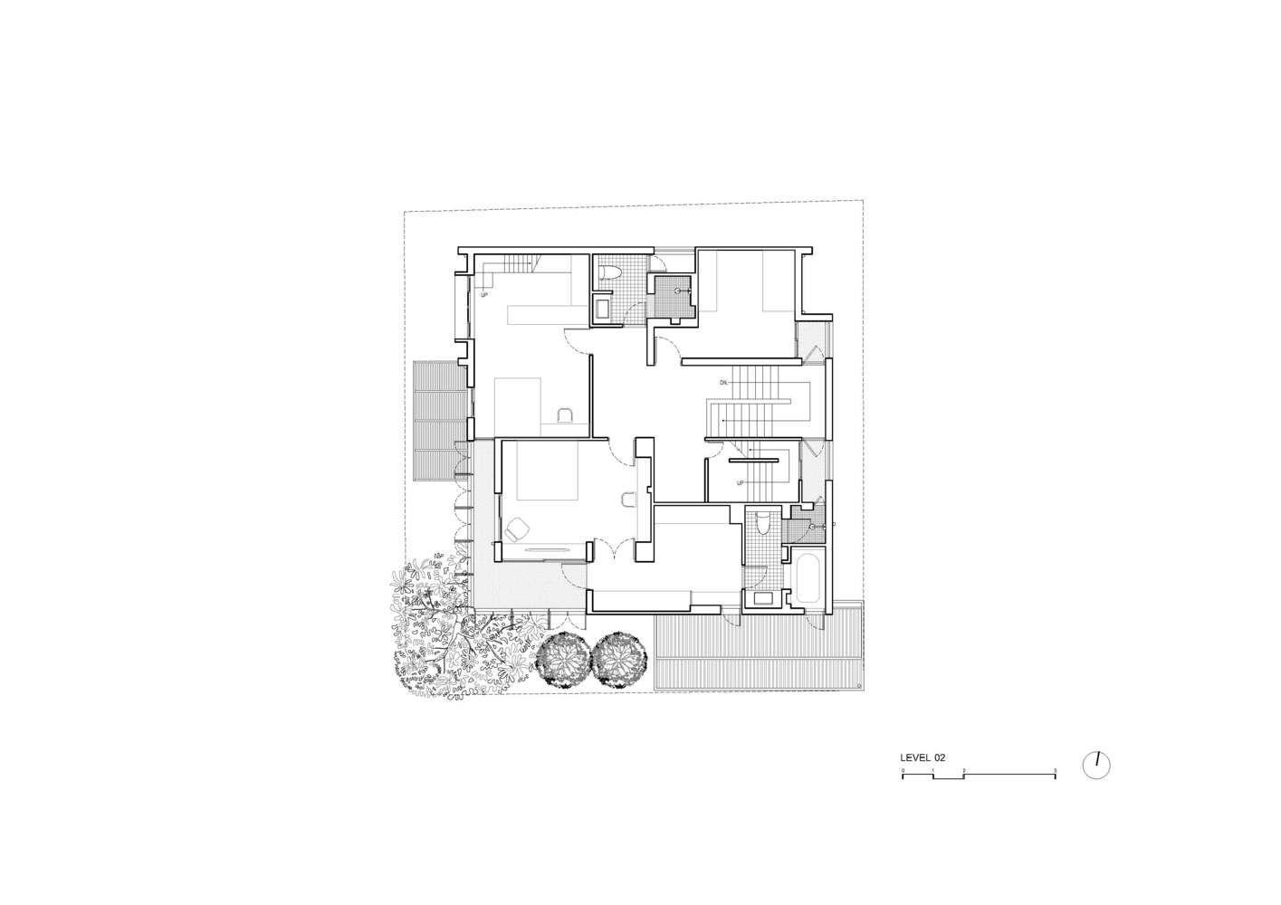 Gallery Of Baan Vibhavadi House Inchan Atelier 28 Atelier House Gallery