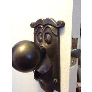 Alice in wonderland real working door knob   Home library/ C room ...