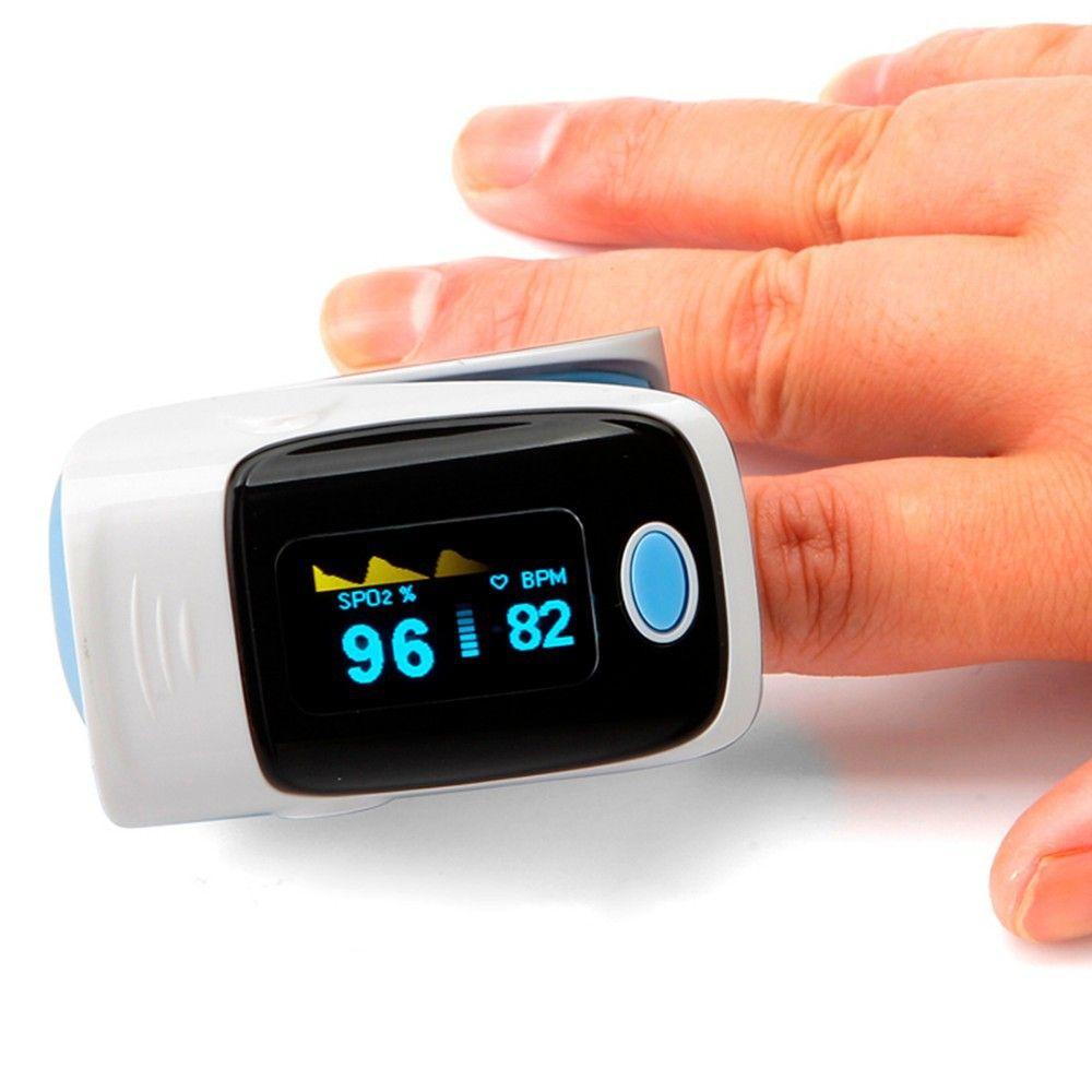 50cbef394 4 cor de casa de saúde dedo oxímetro de pulso de oxigênio dedo Monitor de  alishoppbrasil