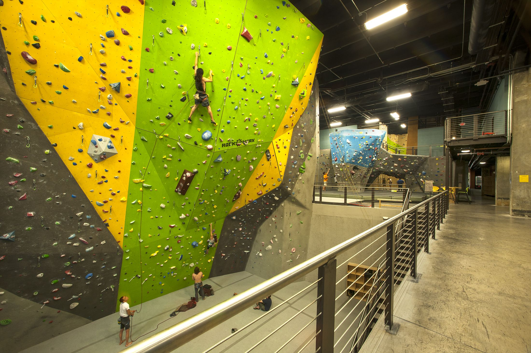 High Point Climbing Gym In Chattanooga Tn