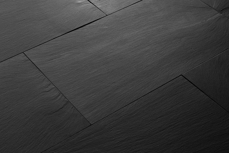 Italian Slate Flooring Premium Jet