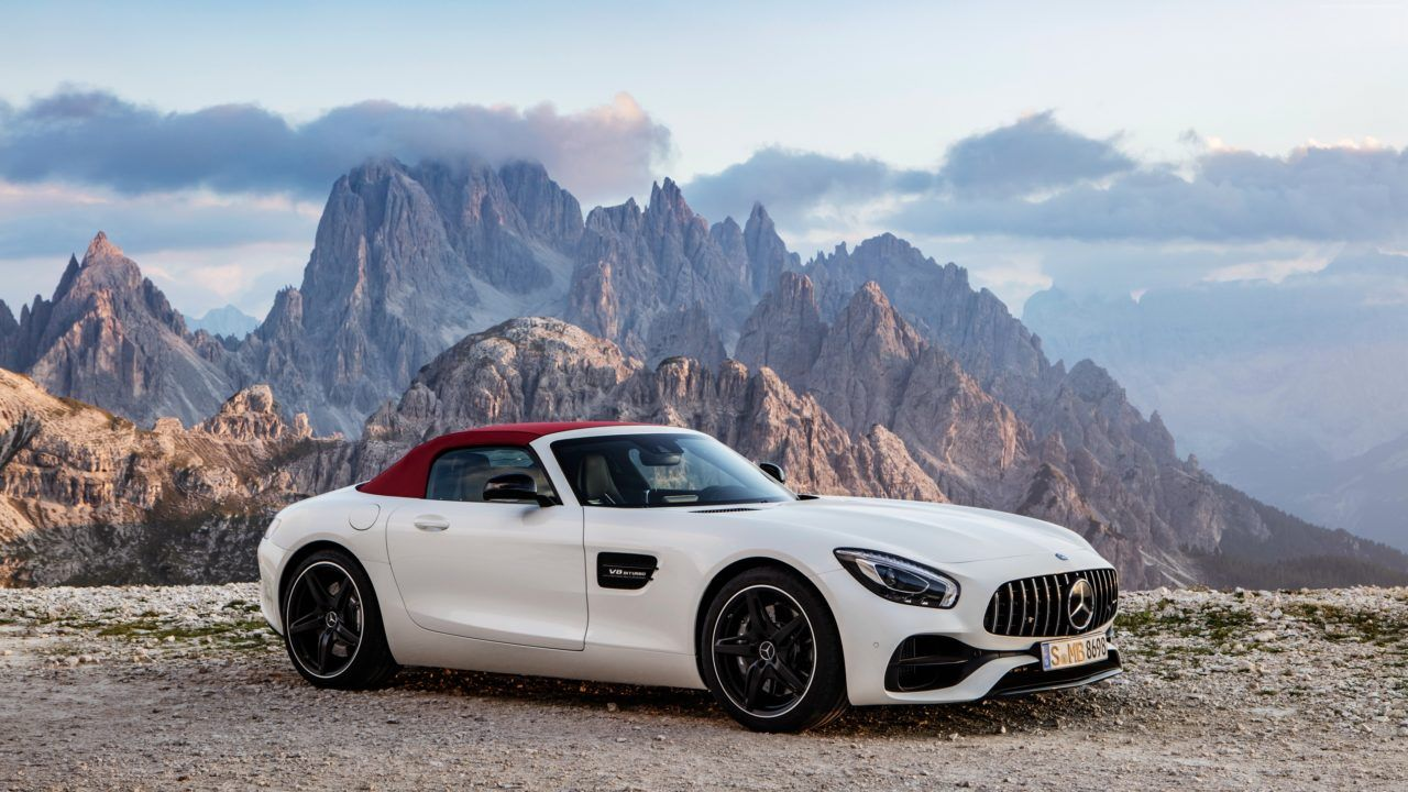 Mercedes Amg Gt C Roadster White 2017 Download Free With Images