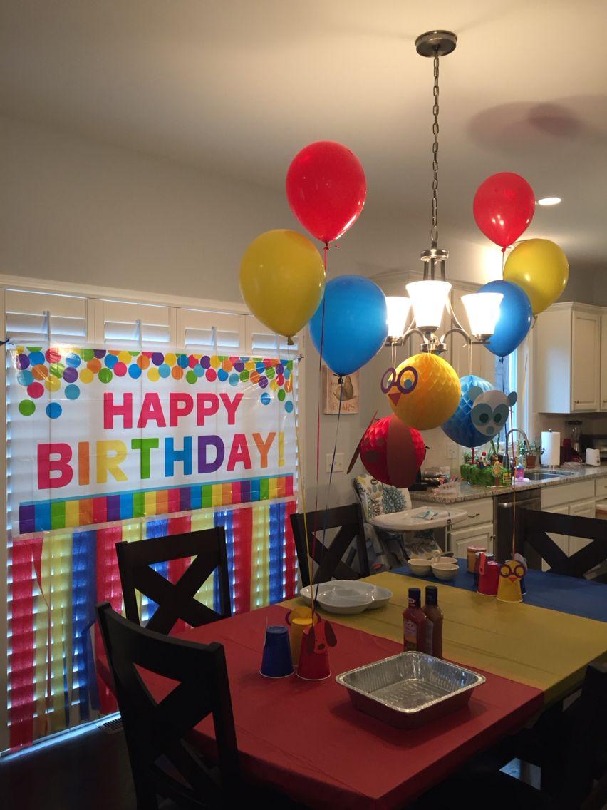 Ruff ruff tweet and dave party Babys first birthday Pinterest