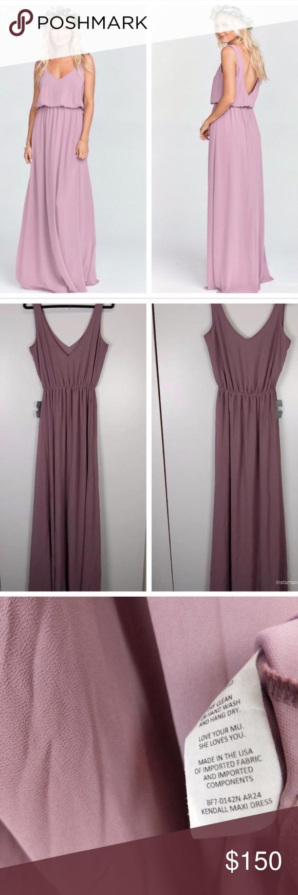 d7fa62c4345 Show Me Your Mumu Kendall Maxi Dress Color antique rose