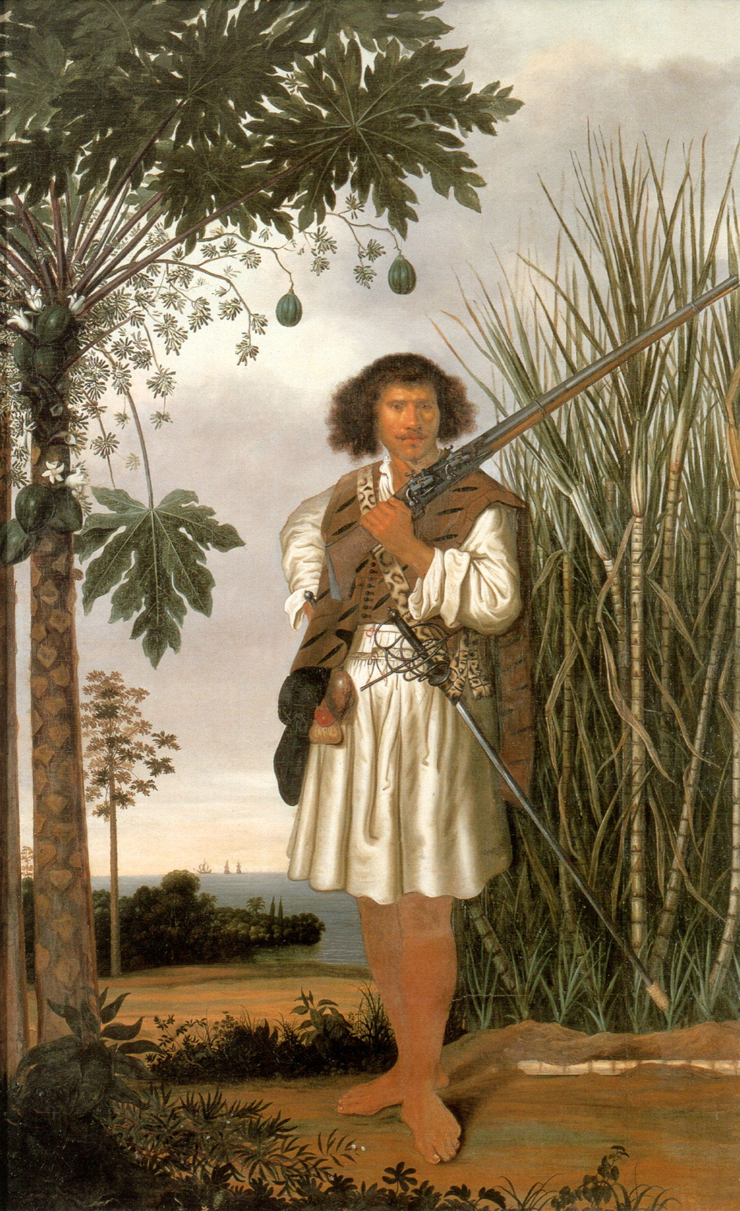 Mulato Albert Eckhout Circa 1610 Circa 1666 Com Imagens