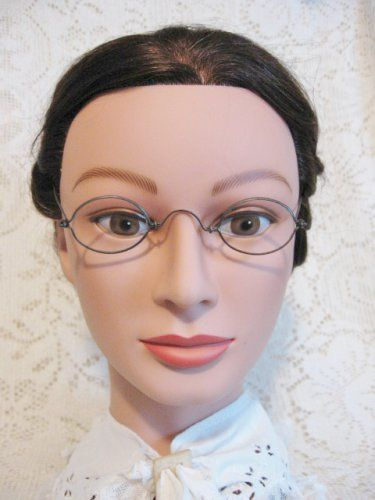 f0eb94b160 Antique Wire Rim Oval Spectacles ~ Metal 19th Century Eyeglasses Ladies Mens  ~ Vintage Touch  15.00