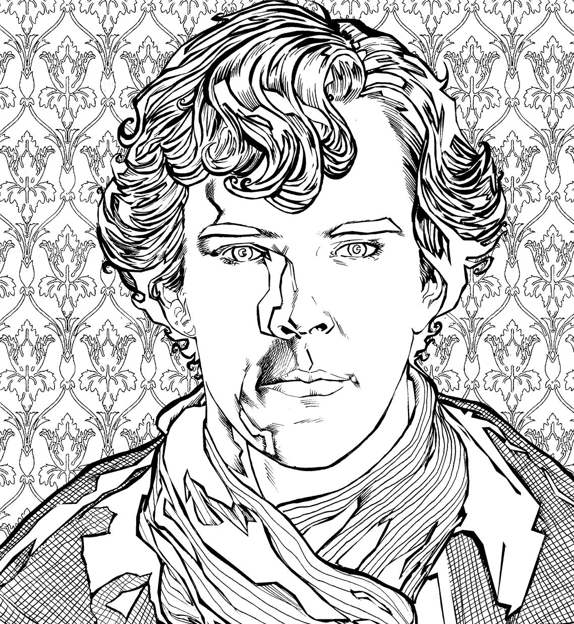 Sherlock The Mind Palace Free Colouring Downloads Whsmith Blog Coloring Download Free Coloring Pages Free Coloring [ 1237 x 1138 Pixel ]
