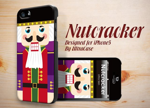 Nutcracker desinged for Apple Iphone5 #appleiphonecase #iPhone5Case #DesignerCase #UltraCase