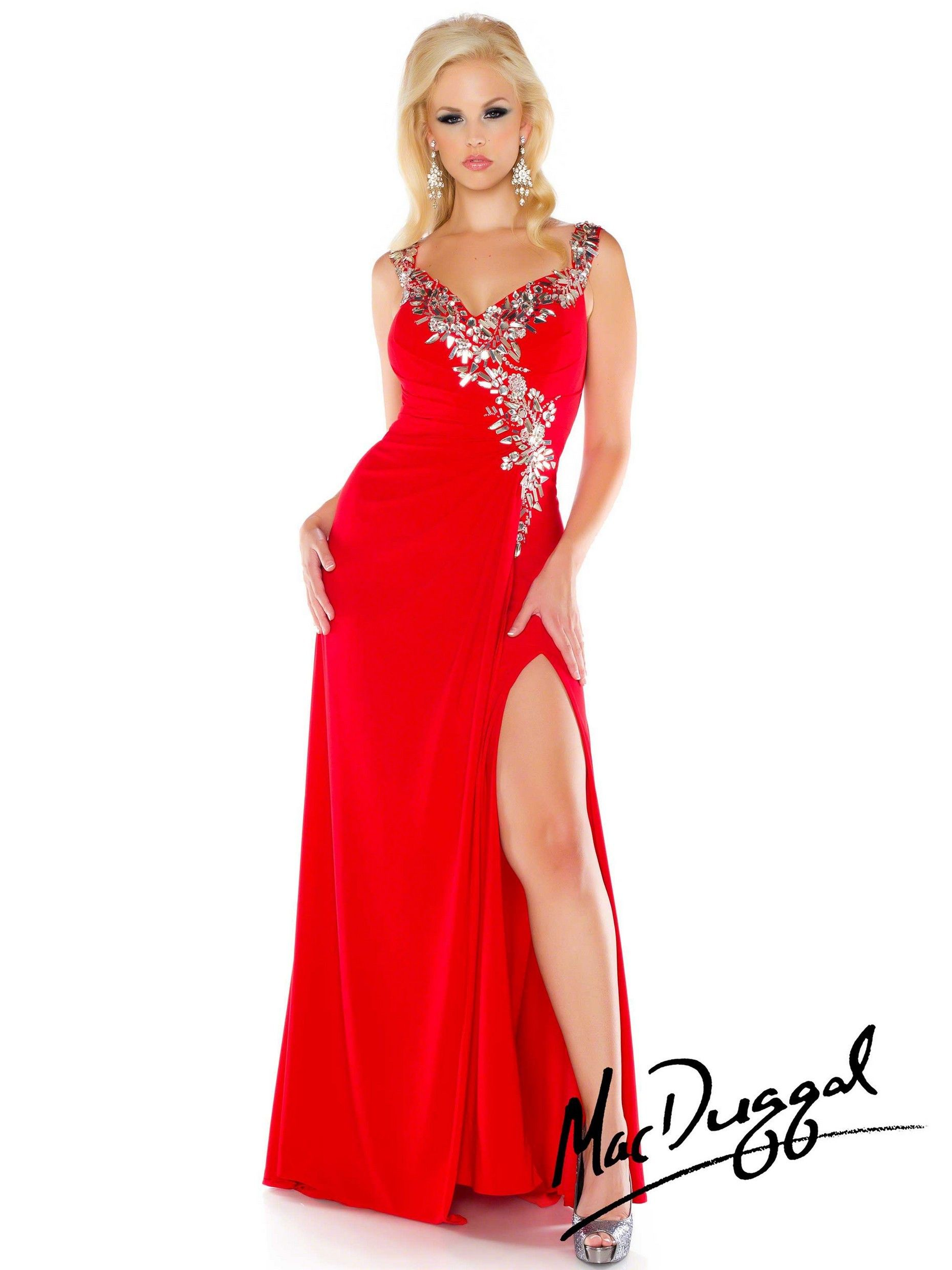 Plus size floor length gown with bead embellished bodice and