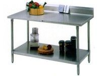 Special Offers Available Click Image Above: John Boos & Co. 60x24x36 Cucina Americana Cucina Tavalo Work Table With Riser