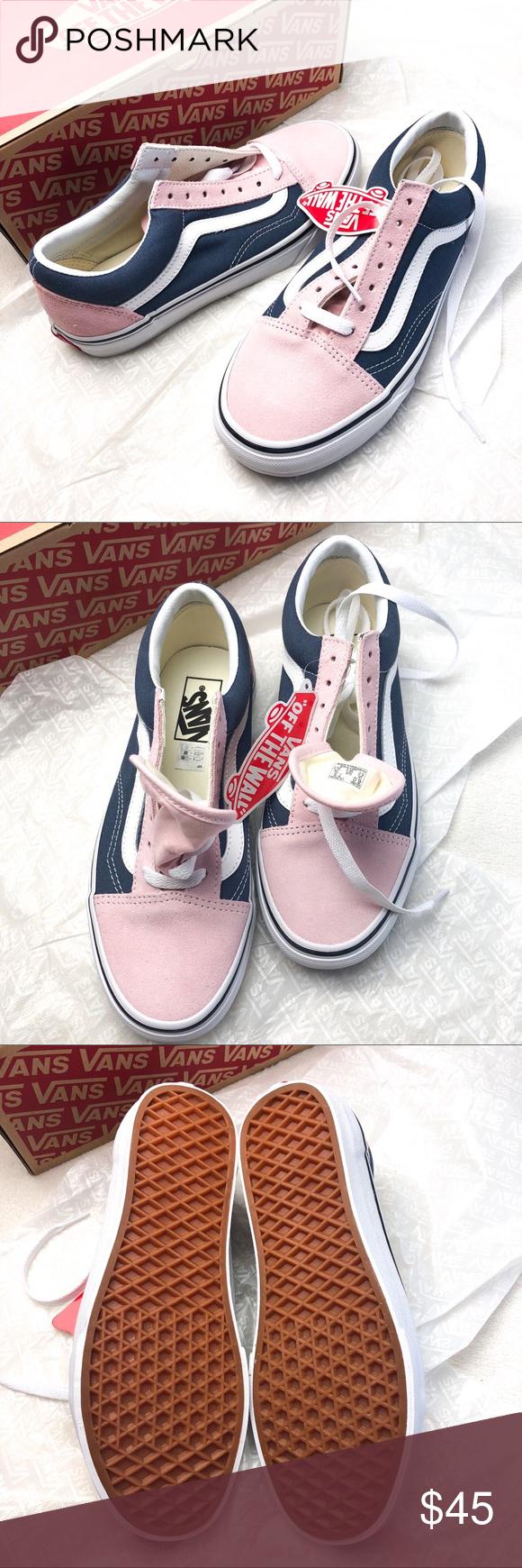 NWT Vans Old Skool chalk pink/vintage