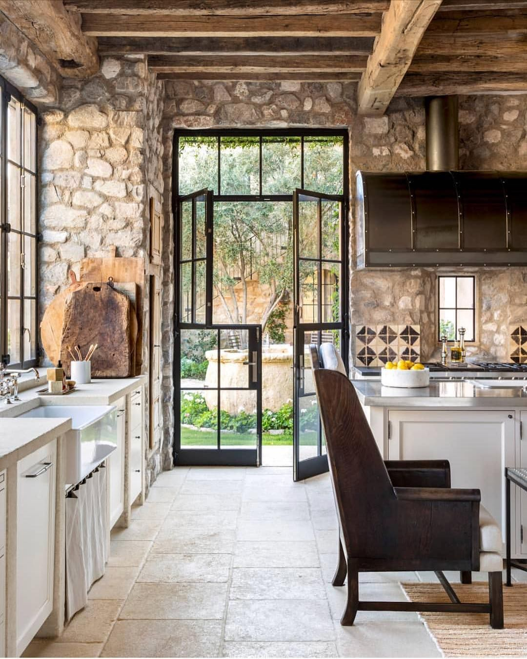 Charming Rustic Kitchen Ideas And Inspirations: Pin By Janet Lohman On Windows, Doors