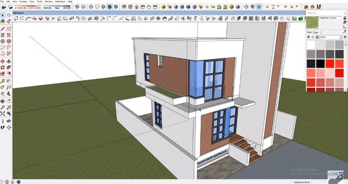 In This Sketchup Video You Will Learn How To Create 7 5x9 M Size
