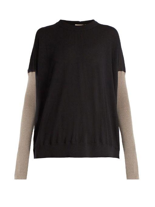 MARNI Bi-colour cashmere sweater. #marni #cloth #sweater