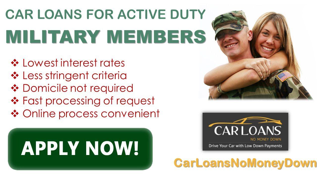 Get Guaranteed Military Auto Loans Bad Credit Military