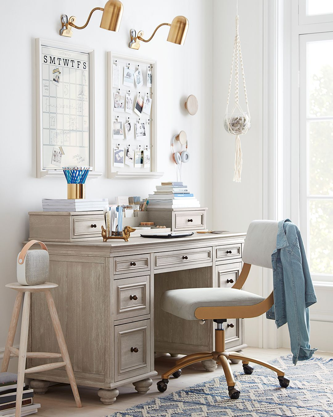 Chelsea Brushed Fog Desk With Images Italian Home Decor Home