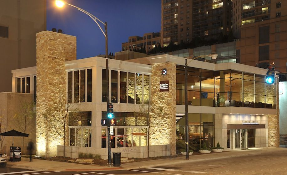 Cantina Laredo Great Mexican In River North Mexican Restaurant River North Cozy Fireplace