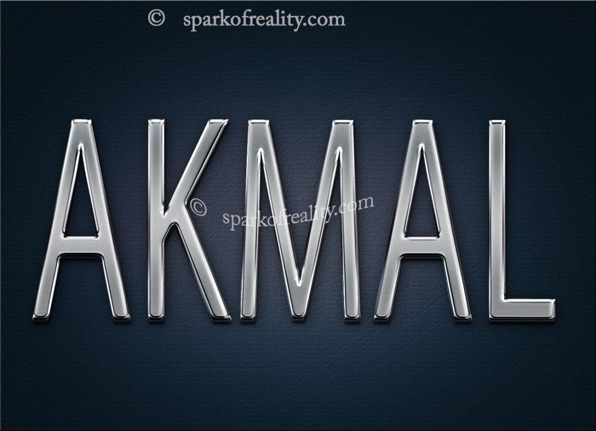 Akmal Hd Wallpapers 3d Wallpaper Text Art