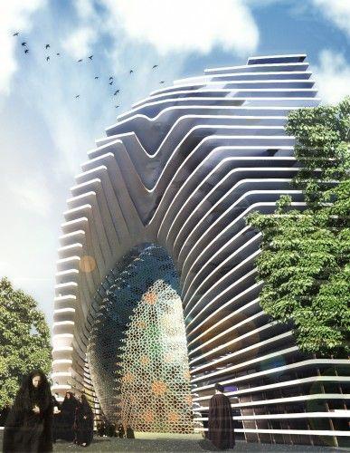 Mosque (Amir Al-Momenin) Proposal / CAAT Architecture Studio