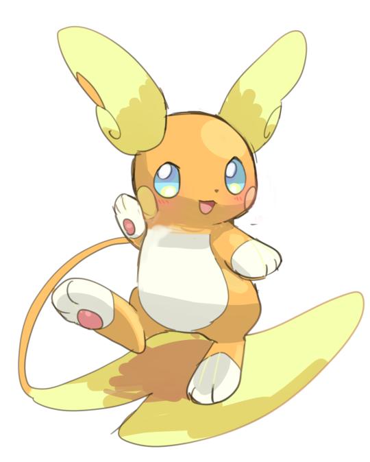 Raichu Forma Alola Pokemon Pikachu Raichu Cute Pokemon