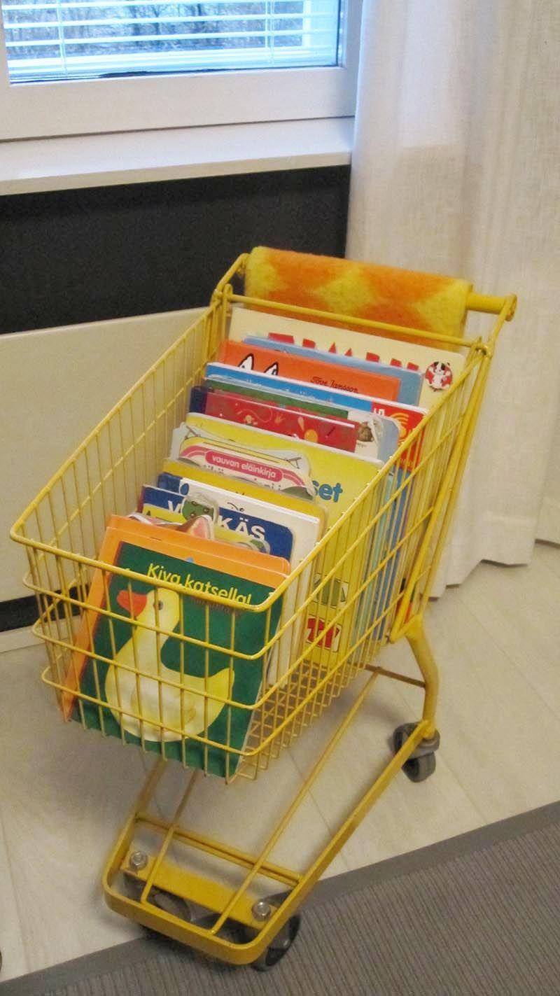Topi-vauvan huone - ostoskärryt