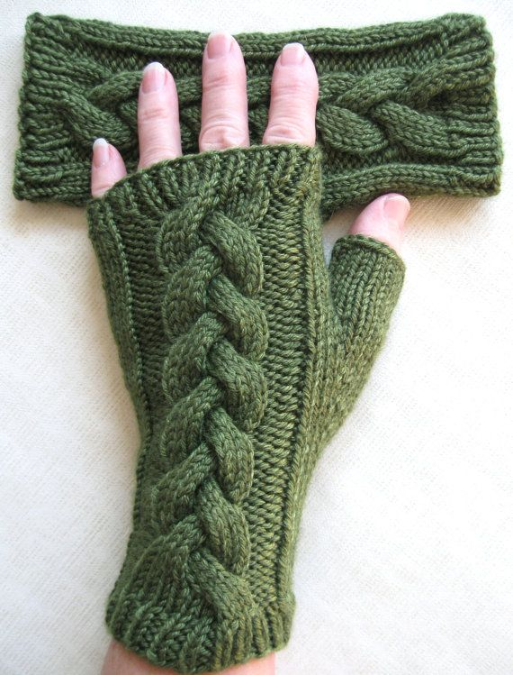 Fingerless Gloves for Women - Clover en 2018 | Guantes | Pinterest