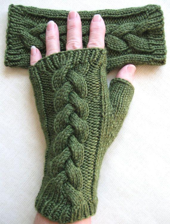 Fingerless Gloves for Women - Clover | Pinterest | Guantes sin dedos ...