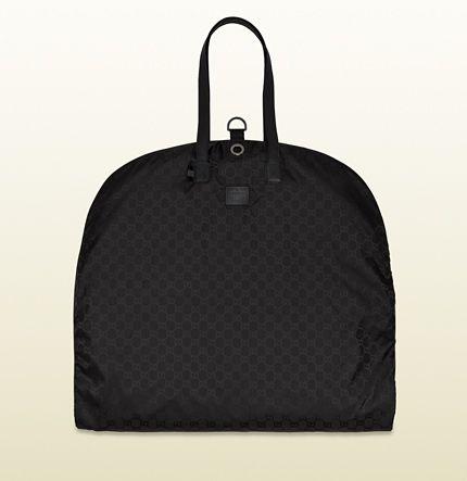 b4ef39403035 black gg nylon garment bag from viaggio collection 308942 FJ7FR 8615  650  Gucci