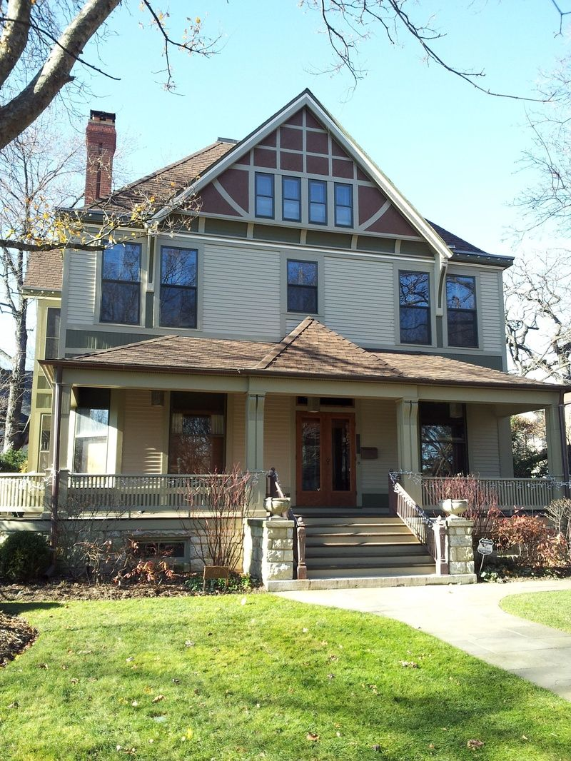 Charles E Roberts House Remodel 1896 321 N Euclid Avenue Oak Park IL Frank