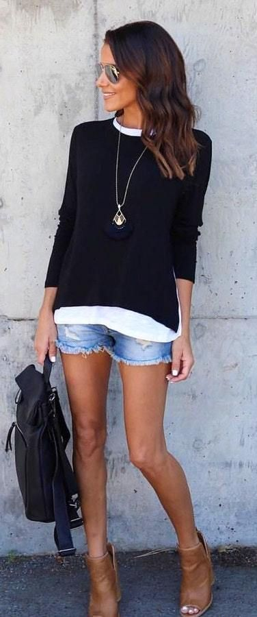 e258510476f2 40+ Casual   Chic Summer Outfits Ideas
