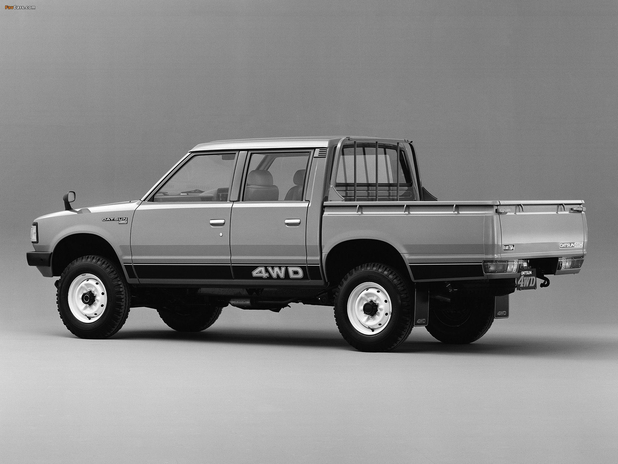 1980 nissan pickup
