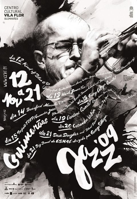 Poster Expressive Music Expressive Typography Jazz Poster