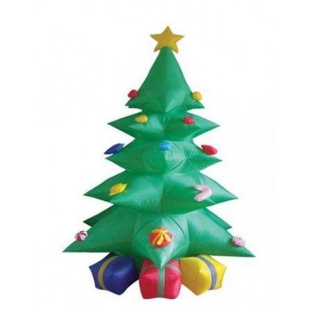 BZB Goods 8\u0027 Christmas Inflatable Tree with Presents Holidays