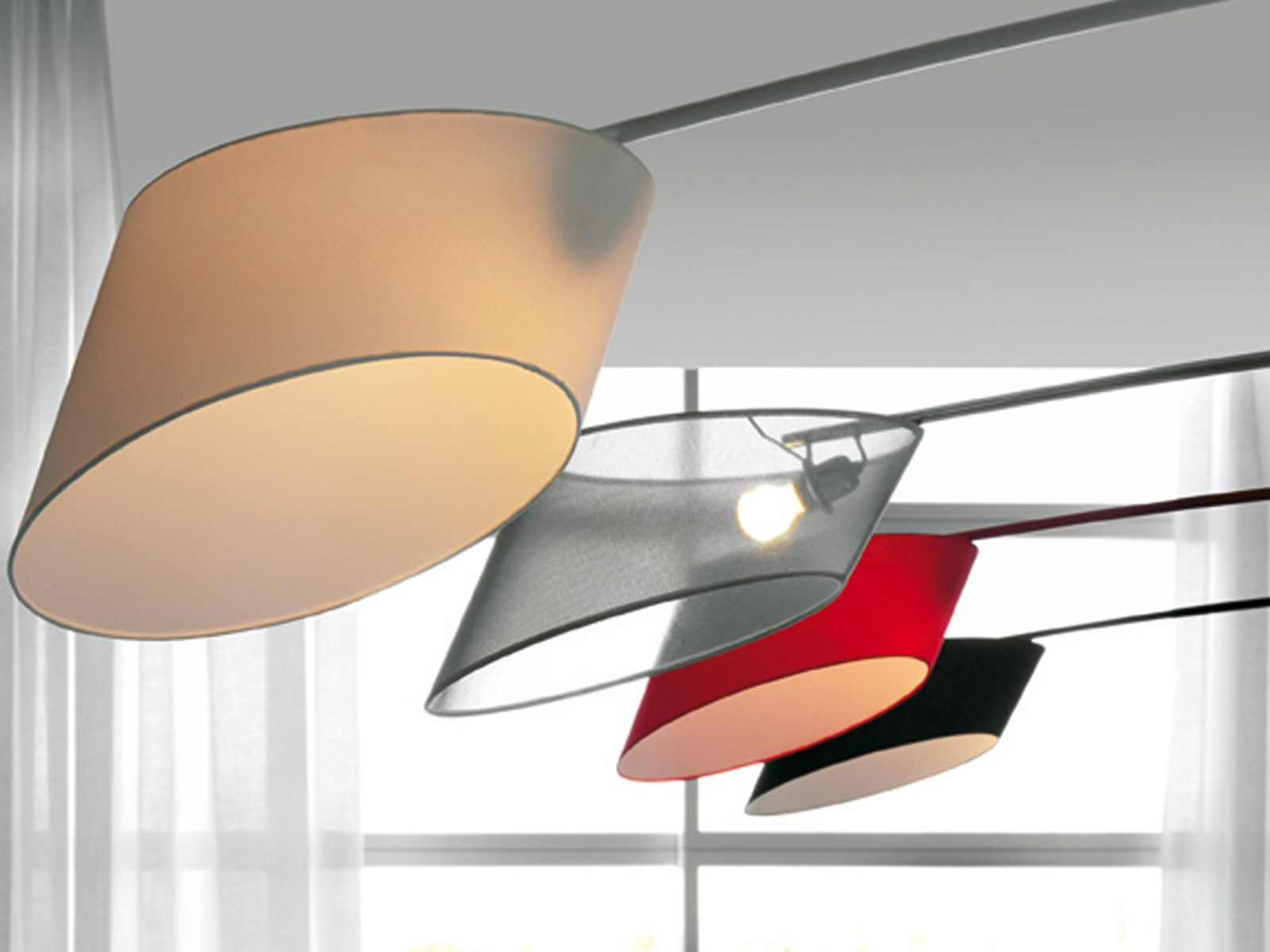 Lampadaire En Tissu FLAG By Cattelan Italia Design Emanuele Zenere