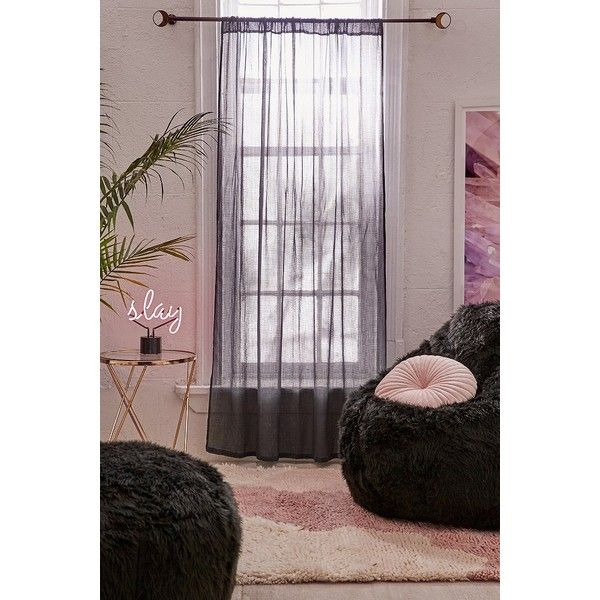 Chloe Gauze Curtain ($39) Liked On Polyvore Featuring Home
