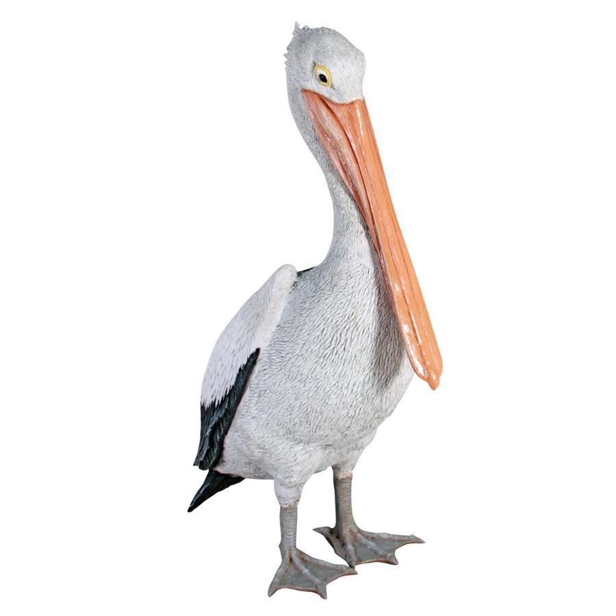 Giant White Pelican Home Decor Statues