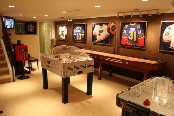Consider Turning Basement Into A Gaming Room Home Decorating Trends Homedit Game Room Basement Game Room Family Game Room Design