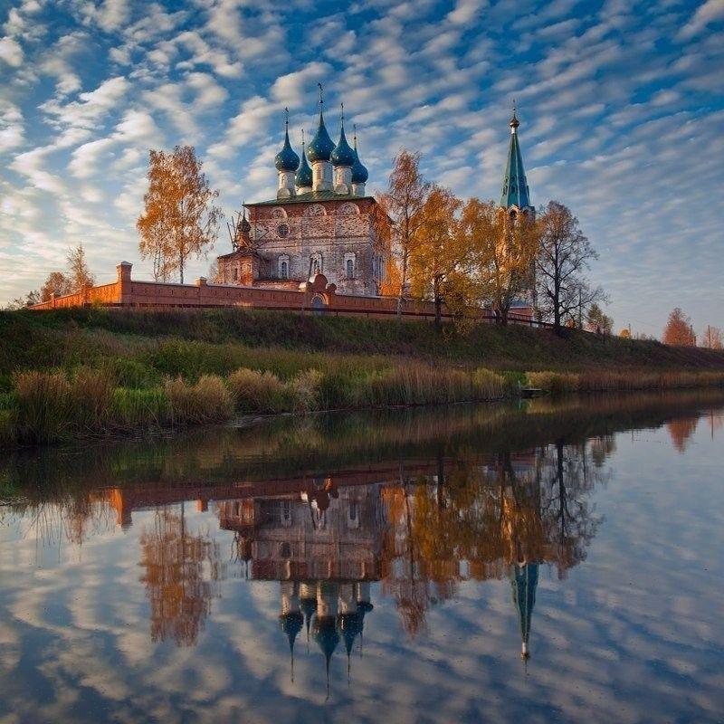 Село Дунилово. Шуйский район, Ивановская област