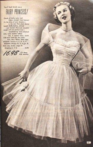 prom dresses from the 1950s – Fashion