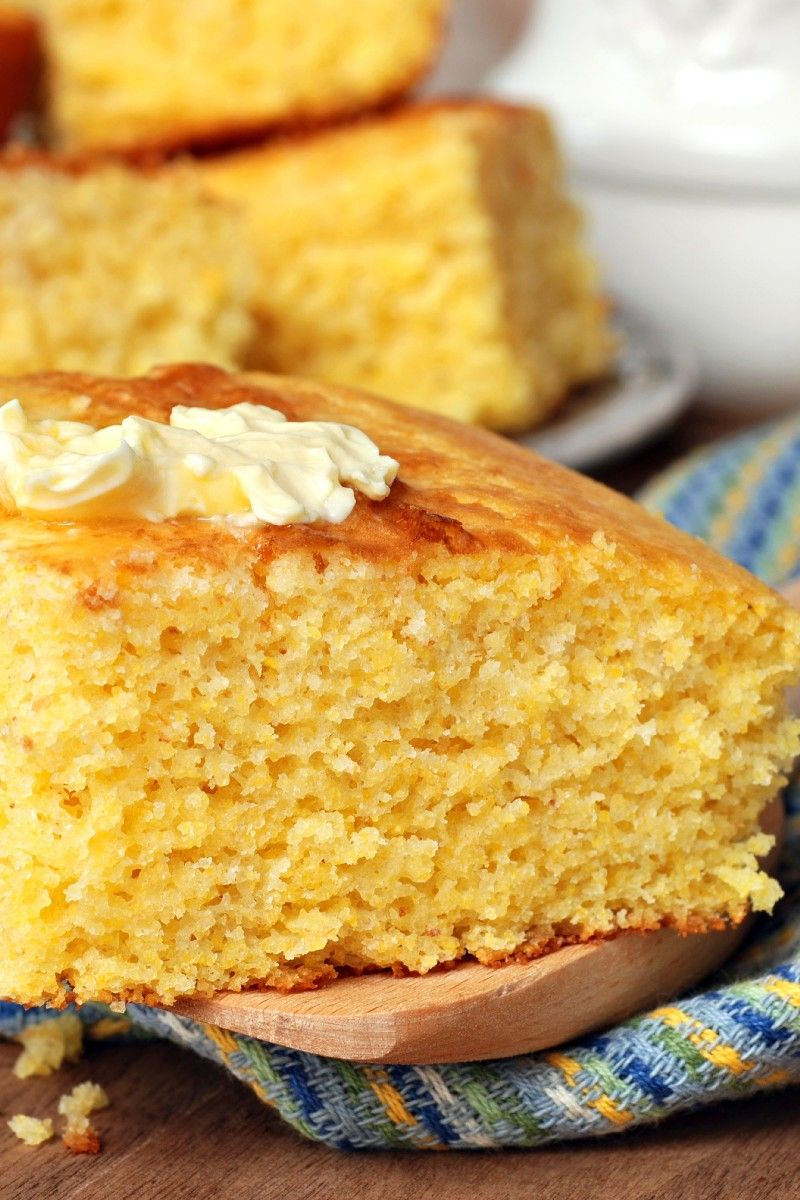 23 Best Thanksgiving Side Dishes Buttermilk Cornbread Homemade Buttermilk Cornbread Food